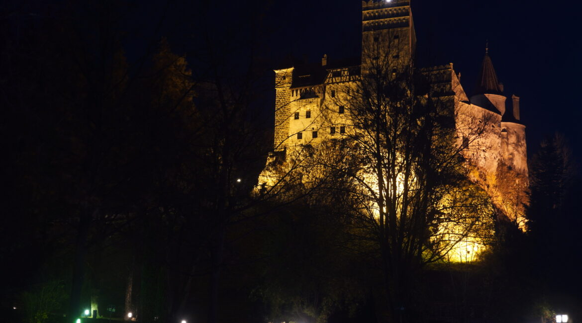 Night tour and exquisite wine tasting at Dracula's Castle