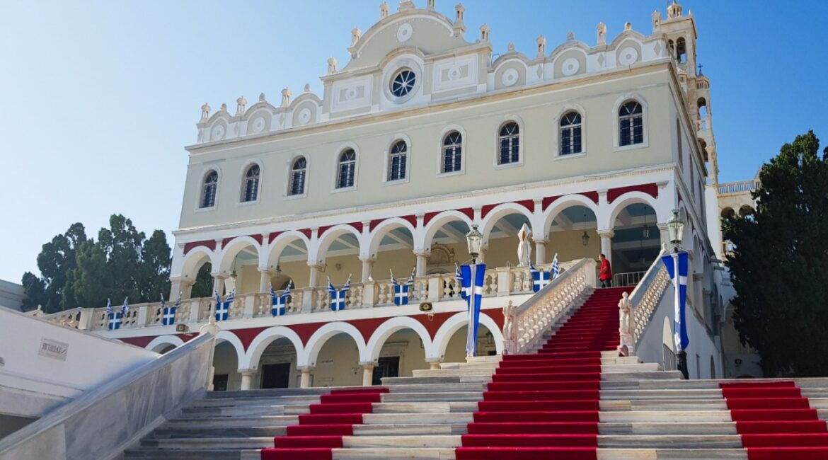 The miraculous pilgrimage destination in Greece: Panagia Evangelistria, Our Lady of Tinos